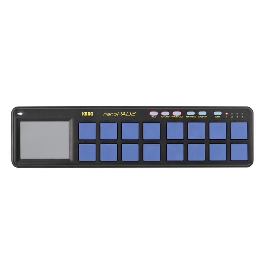 Korg NANOPAD2-Blue/Yellow