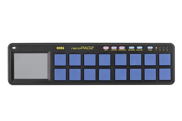 Korg NANOPAD2-Blue/Yellow - Tastiere Tastiere e Controller Midi Usb