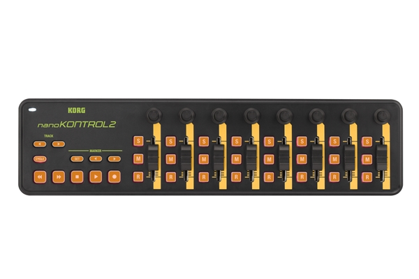 Korg NANOKONTROL2-Orange/Green - Tastiere Tastiere e Controller Midi Usb