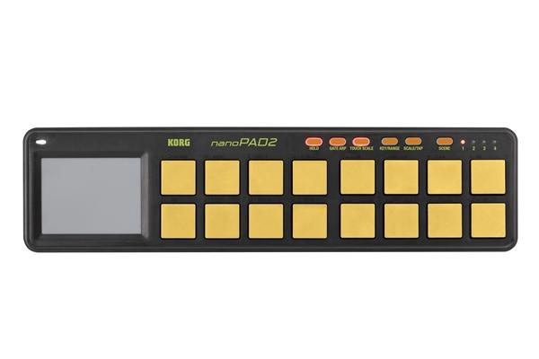 Korg NANOPAD2-Orange/Green - Tastiere Tastiere e Controller Midi Usb