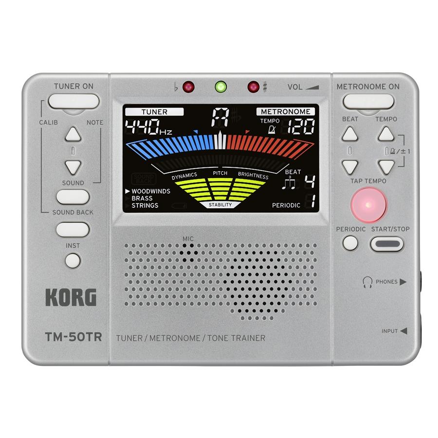 Korg TM-50TR - Silver