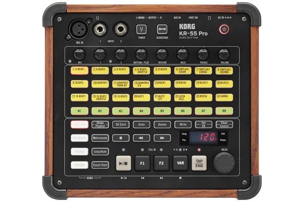 Korg KR-55 PRO - Tastiere Groove Box e Campionatori