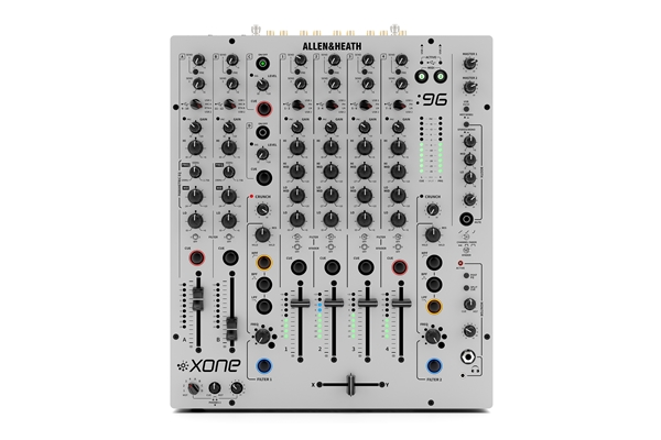 ALLEN & HEATH XONE:96 mixer analogico per club e DJ con doppia interfaccia audio USB