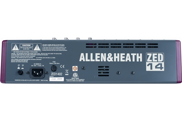 ALLEN & HEATH ZED 14