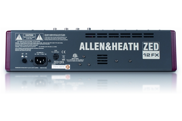 ALLEN & HEATH ZED 12FX