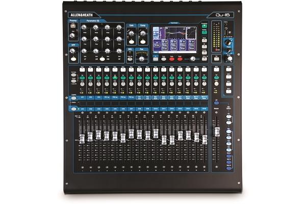 Allen & Heath Qu-16 Chrome - Dj Equipment Mixer Passivi