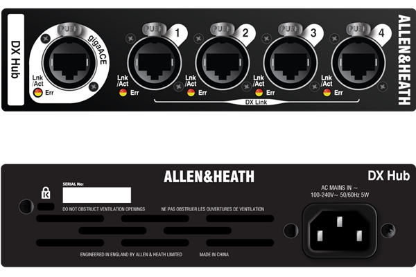 ALLEN & HEATH DX-HUB