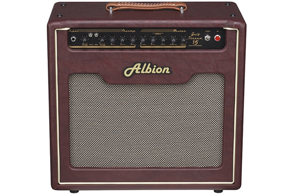 Albion Gs15c Gulfstream 1x12 Combo Amp Vinyl Amplifier
