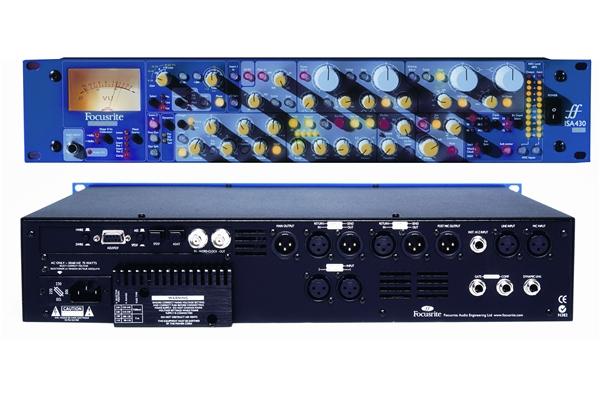 Focusrite ISA 430 MKII - Voce - Audio Outboard ed Effetti - Processori di segnale