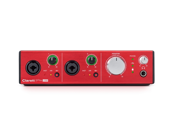 Focusrite Clarett 2 Pre USB - Voce - Audio Schede Audio ed Interfacce MIDI
