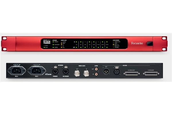 Focusrite Rednet D16R - Voce - Audio Schede Audio ed Interfacce MIDI