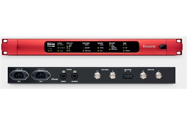 Focusrite Rednet D64R - Voce - Audio Schede Audio ed Interfacce MIDI