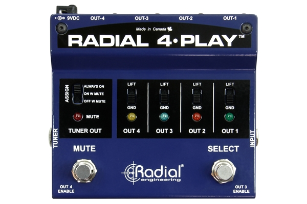 RADIAL 4-PLAY