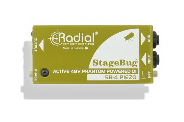 Radial SB-4 Piezo
