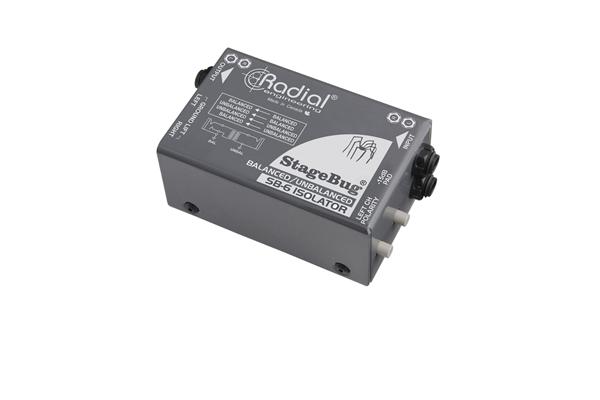 Radial Engineering SB-6 - Dj Equipment Accessori - DI Box