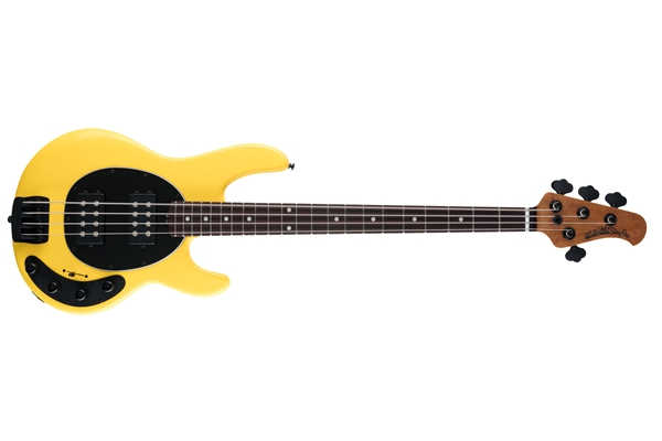 Music Man StingRay Special HH HD Yellow Tastiera Palissandro
