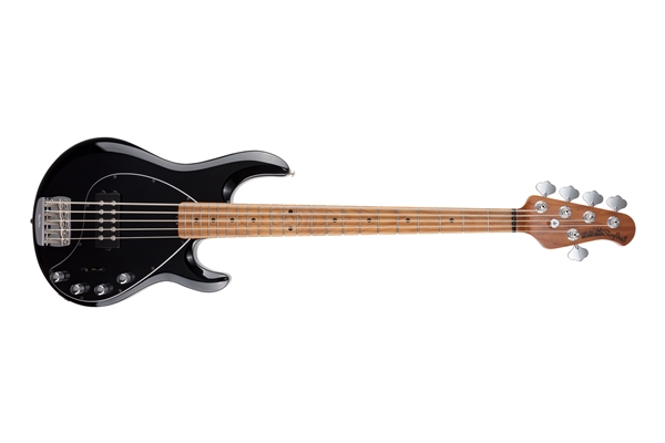 Music Man StingRay Special 5 H Black Tastiera Acero