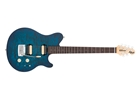 Music Man Axis Super Sport HH tastiera Palissandro Balboa Blue Burst Quilt