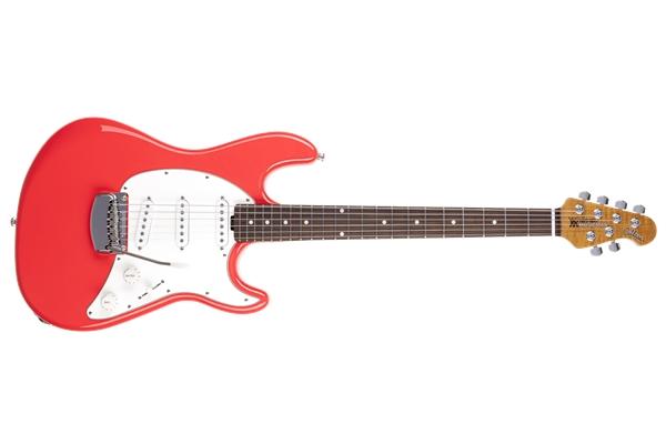 Music Man Cutlass RS SSS Coral Red Tastiera Palissandro