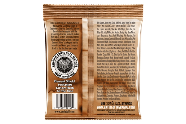 Ernie Ball 2148 Earthwood Phosphor Bronze Light 11-52