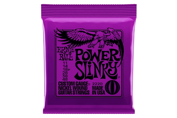 Ernie Ball 2220 Nickel Wound Power Slinky 11-48