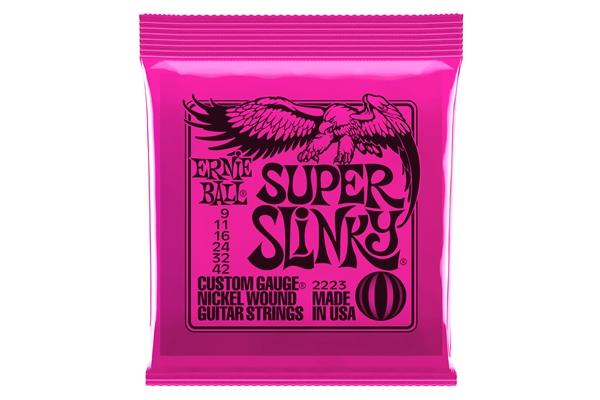 Ernie Ball 2223 Nickel Wound Super Slinky 9-42