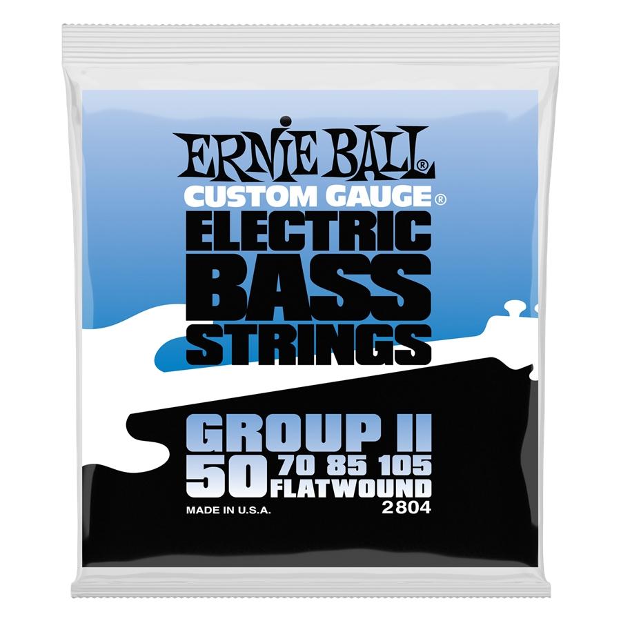 Ernie Ball 2804 Flatwound Group II 50-105