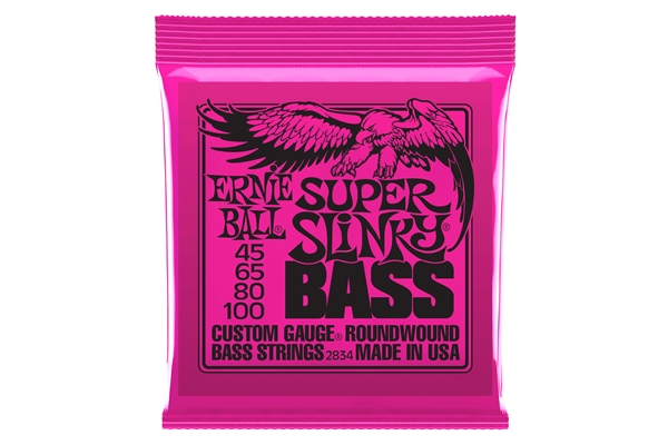 Ernie Ball 2834 Nickel Wound Super Slinky 45-100