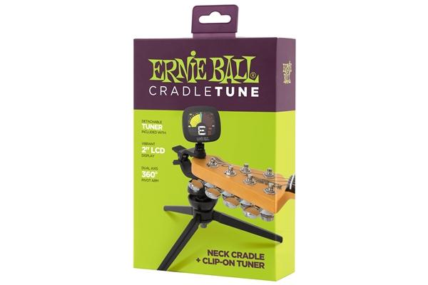 Ernie Ball CradleTune Accordatore Treppiede a Clip