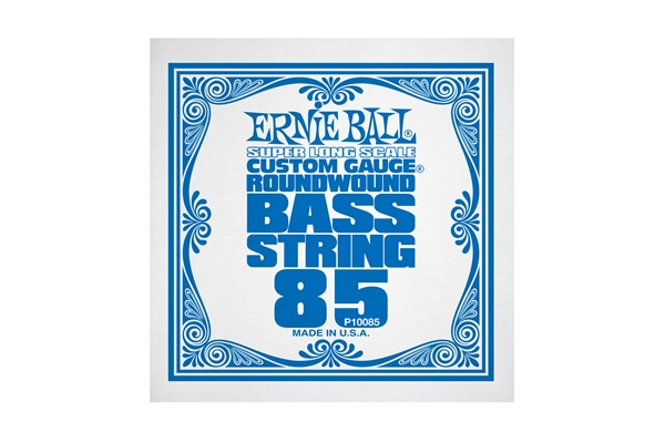 Ernie Ball 0085 Nickel Wound Bass Scala Super Lunga .085