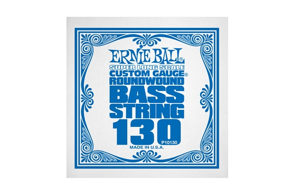 Ernie Ball 0130 Nickel Wound Bass Scala Super Lunga .130