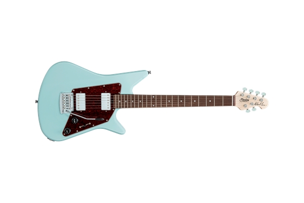 Sterling By Music Man Albert Lee Guitar Daphne Blue