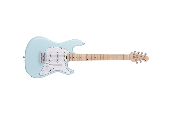 Sterling By Music Man Cutlass SSS Daphne Blue
