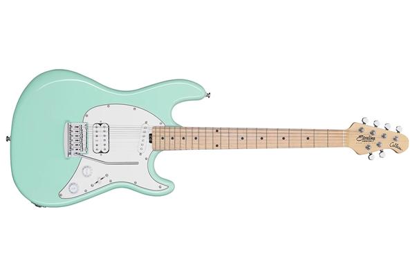 Sterling-by-Music-Man-Cutlass-Short-Scale-HS-Mint-Green-Tastiera-Acero-sku-1583863884265