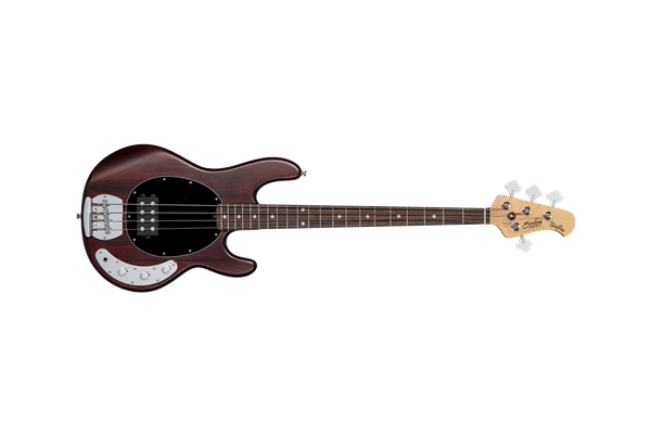 Sterling by Music Man Stingray Ray4 Basso 4 Corde Walnut Satin - Bassi Bassi - Elettrici 4 Corde