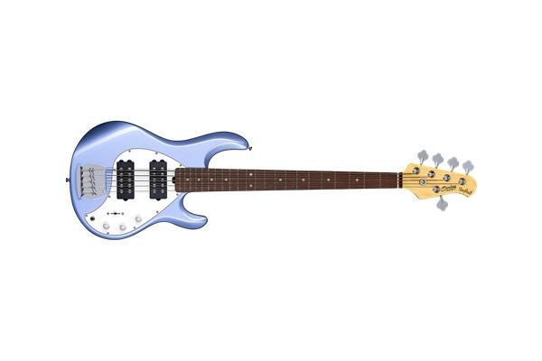 Sterling-by-Music-Man-StingRay5-Ray5-HH-5-Corde-Lake-Blue-Metallic-Tastiera-Jatoba-sku-1583863890195