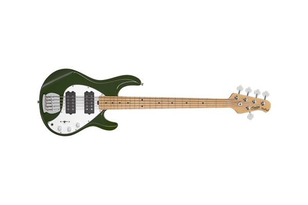 Sterling-by-Music-Man-StingRay5-Ray5-HH-5-Corde-Olive-Tastiera-Acero-sku-1583863890643