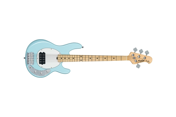 STERLING BY MUSIC MAN STINGRAY SHORT SCALE 4 CORDE DAPHNE BLUE